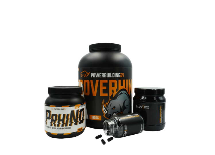 Powerbuilding24 Supplements Bundle